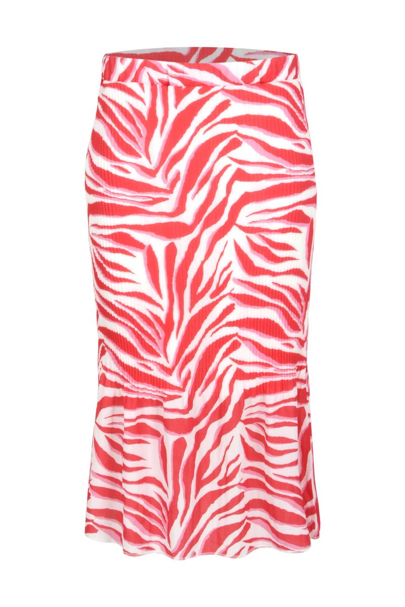 lange rok van een mooie crepe lycra stof