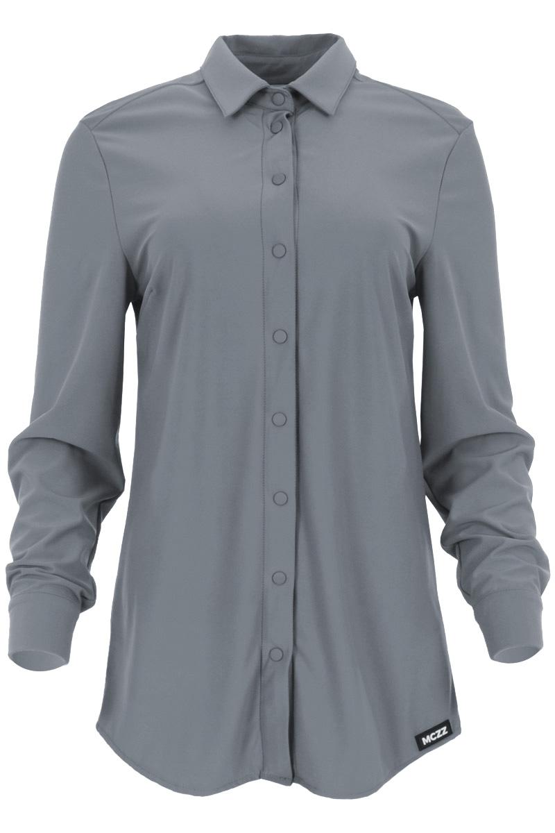 Prachtige basic blouse Vurbi is een lichtgewicht najaarsitem uit de Travel by Maicazz collectie. De blouse heeft een mooie puntkraag en een doorlopende knoopsluiting met ton-sur-ton drukknopen. De blouse heeft een mooie afgeronde zoom en de manchetten hebben een splitje en zijn voorzien van een enkele knoop. Blouse Vurbi valt normaal qua maat en is te verkrijgen in het Lost Lagoon, Expresso, Black, Mossy Meadow en Warm White.   <ul> <li>Mooie puntkraag</li> <li>Doorlopende knoopsluiting</li> <li>ton-sur-ton drukknopen</li> <li>Lange mouwen</li> <li>Manchetten met splitje en enkele knoop</li> <li>Blouse</li> <li>Afgeronde zoom</li> <li>Basic blouse</li> <li>Model Vurbi</li> <li>Valt normaal qua maat</li> <li>Travel by Maicazz herfstcollectie 2021</li> <li>Te verkrijgen in het Lost Lagoon, Expresso, Black, Mossy Meadow en Warm White.</li> </ul>