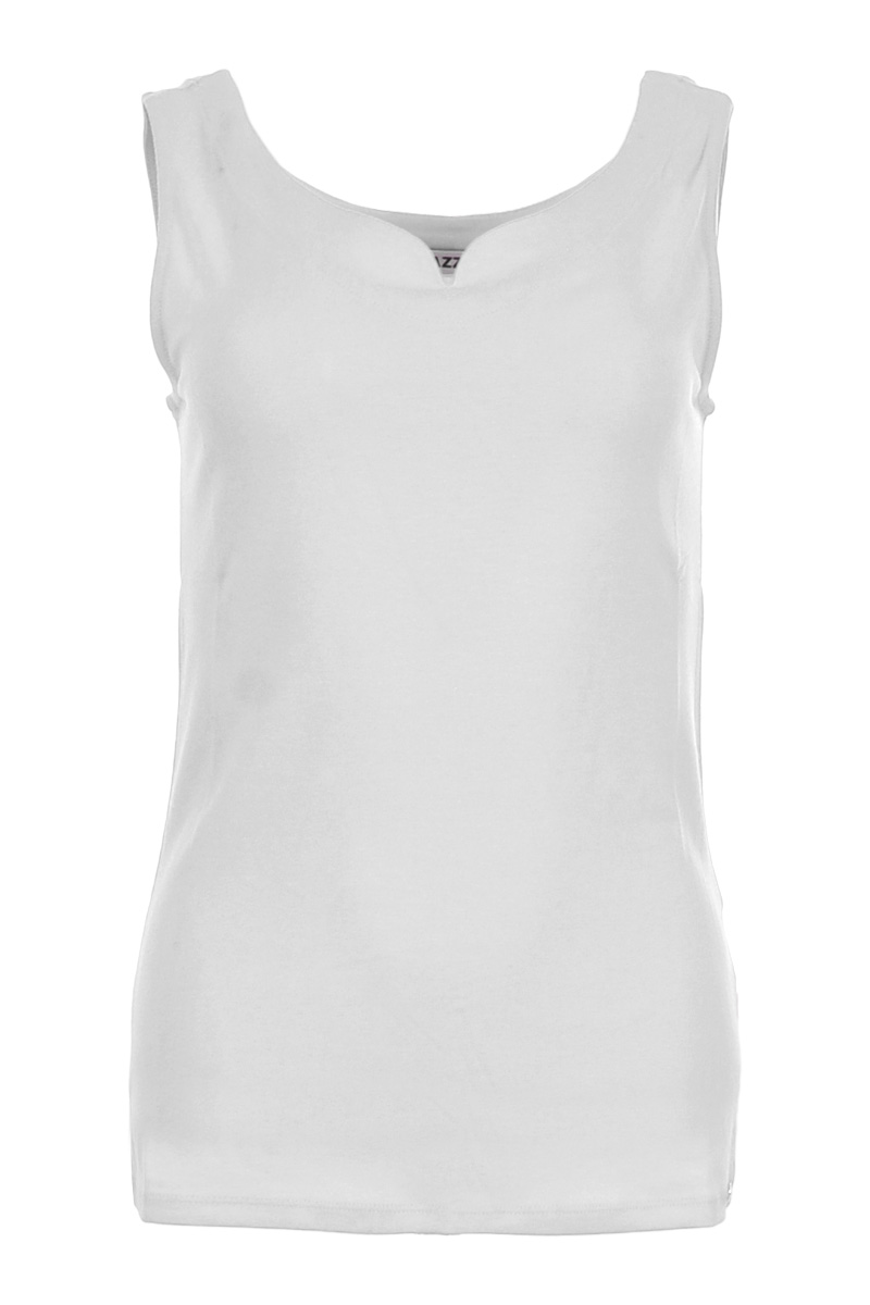 Top Tanvi Pol is een comfortabele top van polyamidelycra kwaliteit. De top heeft een elegante uitgesneden halslijn afgewerkt met een halsbord. Tanvi heeft een licht getailleerd model zonder mouwen. Top Tanvi valt normaal qua maat en is te verkrijgeninde kleuren , Offwhite, Black, Navy en Sand.  <ul> <li>Mouwloos</li> <li>Uitgesneden hals</li> <li>Halsboord</li> <li>Valt normaal qua maat</li> <li>Model Tanvi</li> <li>Polyamide lycra kwaliteit</li> <li>Zomercollectie 2021</li> <li>Viscose Lycra kwaliteit</li> <li>Verkrijgbaar in het Black,White, Offwhite en Sand </li> </ul>