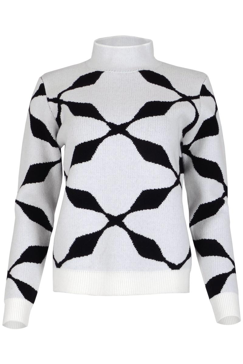 Trui Vyler is een zacht en arm brei item uit de Knits by Maicazz herfstcollectie 2021. De trui is gemaakt van een zachte breimix die niet kriebelt. Vice heeft een mooie ronde openstaande kraag en lange mouwen. De trui hoort iets ruimer te vallen en is verkrijgbaar in de volgende ruiten-prints: Warm White, Expresso en Sahara Sand.    <ul> <li>Trui</li> <li>Ronde openstaande kraag</li> <li>Brei</li> <li>Lange mouwen</li> <li>Brede ribgebreide afwerking bij manchetten en zoom</li> <li>Gemaakt van een zachte breimix die niet kriebelt</li> <li>Hoort iets ruimer te vallen</li> <li>Knits by Maicazz herfstcollectie 2021</li> <li>Prints</li> <li>Te verkrijgen in het Warm White, Expresso, Sahara Sand.</li> </ul>